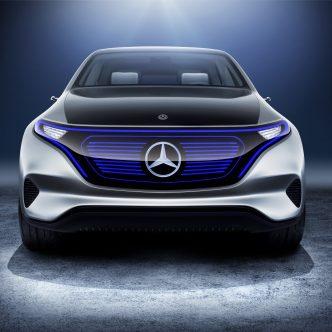 Concept EQ MERCEDES pédale intérieur voiture
