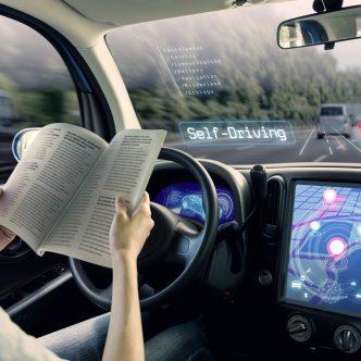 voiture autonome, modélisation d'une voiture du futur