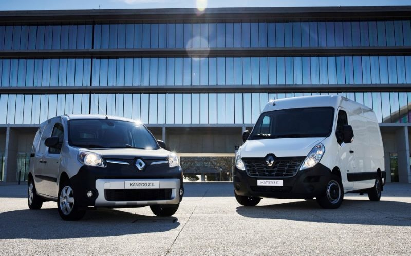Renault MASTER et kangoo ZE
