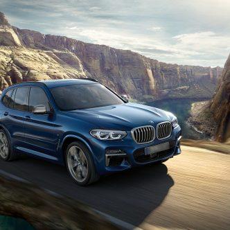 BMW X3 à partir de 590 € par mois