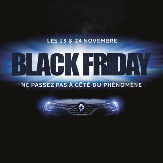 Renault Black Friday les 23 et 24 novembre