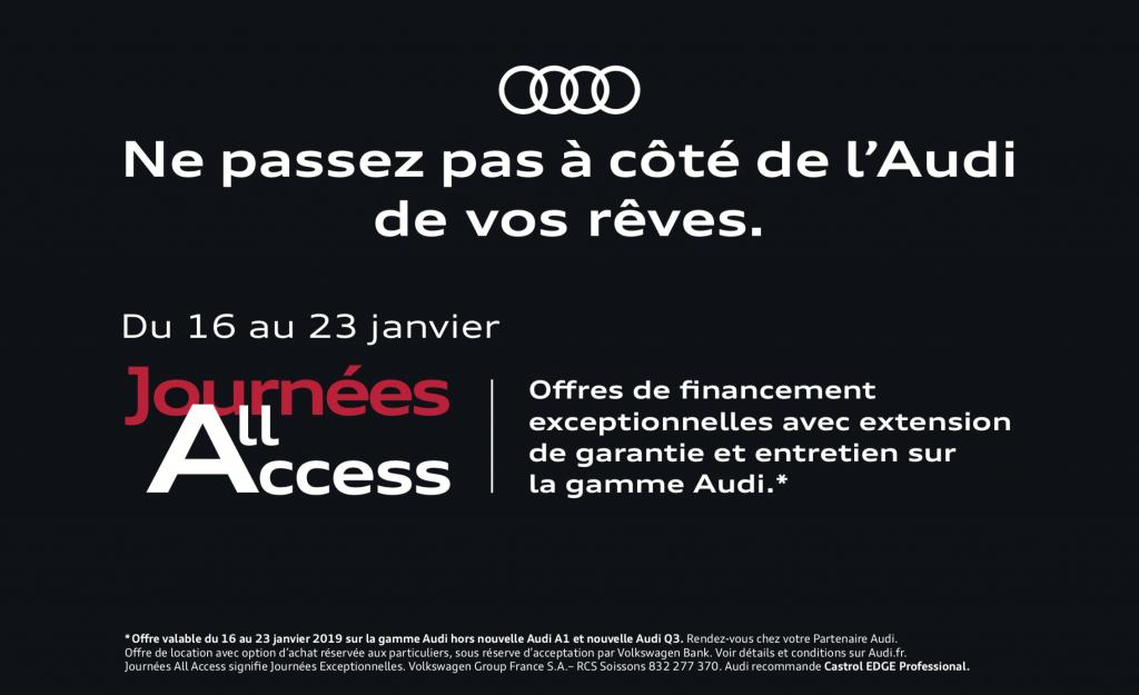 Audi Journées All Access