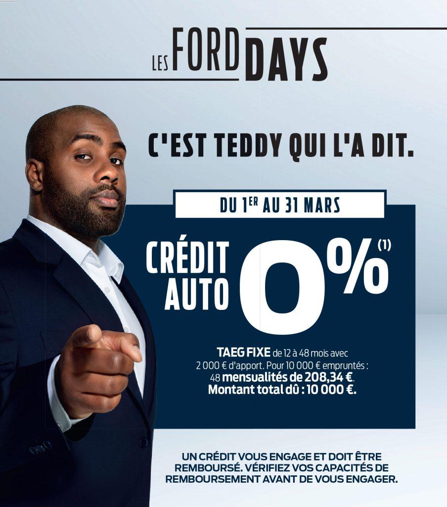 FORD Crédit à taux 0%