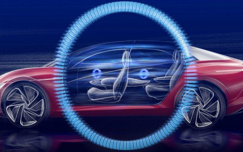 I.D Vizzion berline premium électrique Volkswagen