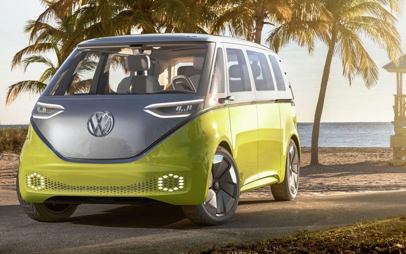 I.D Buzz van électrique Volkswagen