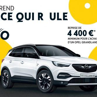 Opel Grandland, reprise 4400€ minimum pendant les German Days
