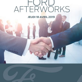 Invitation Afterwork FORD BYmyCAR Lyon Sud