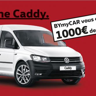 Gamme Volkswagen Caddy, 1000€ de carburant offert