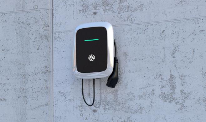 Borne de recharge Volkswagen électrique