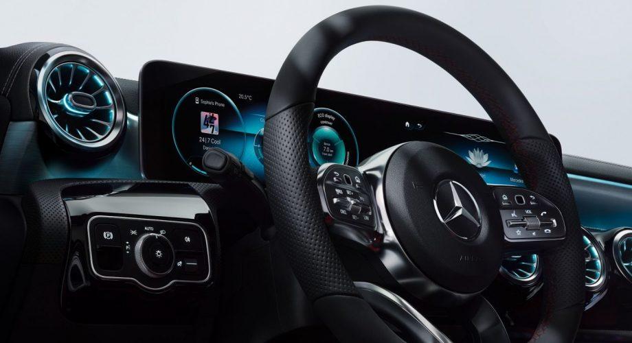Tableau de bord Mercedes Classe A