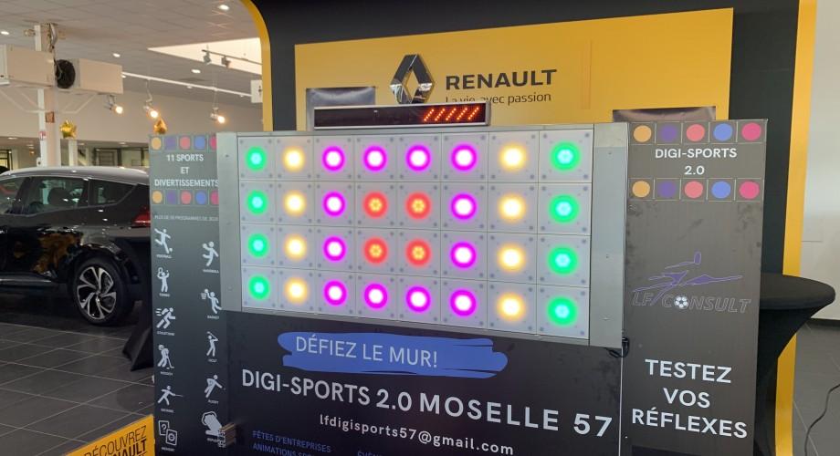 Mur DIGISports dans votre concession Renault BYmyCAR