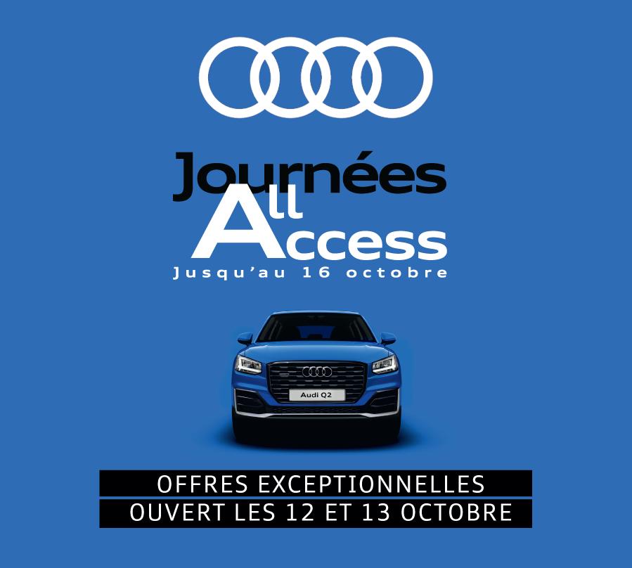 Journées All Access Audi BYmyCAR Bourgogne Lorraine