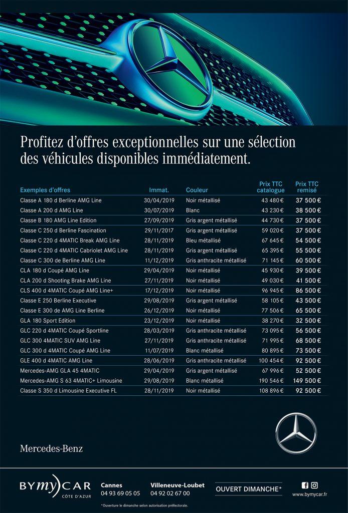Offre Star Days Mercedes BYmyCAR